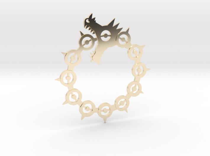 Maliodas The Dragon Sin Full Detail 3d printed