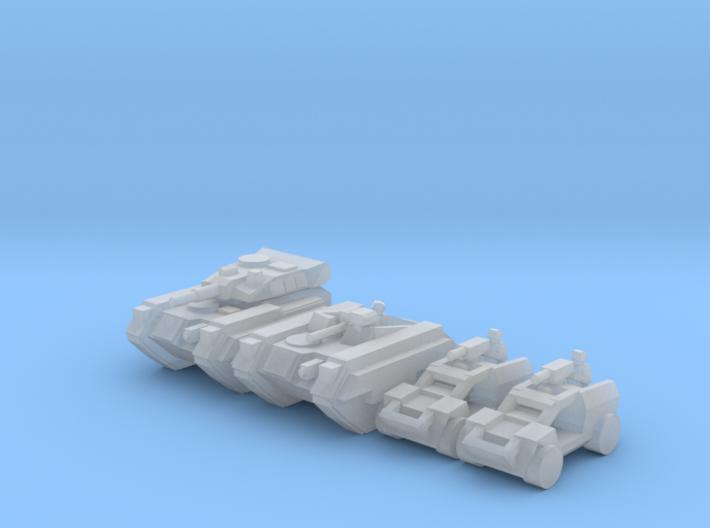 [3mm] Airborne Armor Plt 3 3d printed