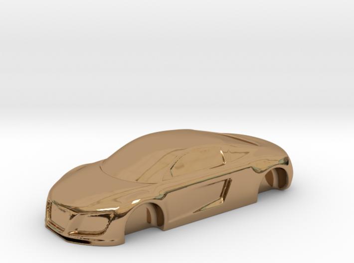 Audii R8 gold (beta version) 3d printed