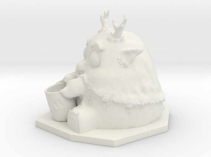 Moonkin Sculpture 3d printed