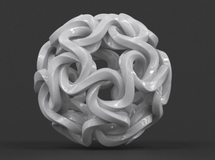 Star Ball Twist 3d printed