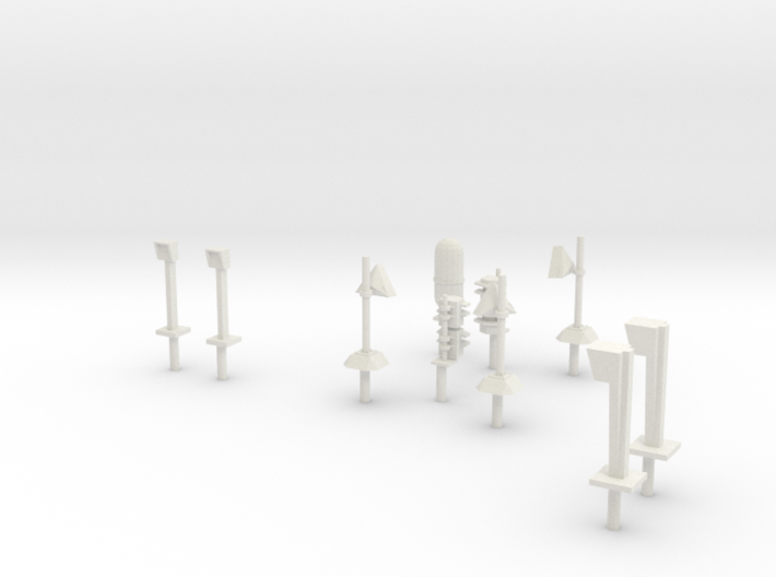 MCB-OD Level Crossing Equipment 3d printed