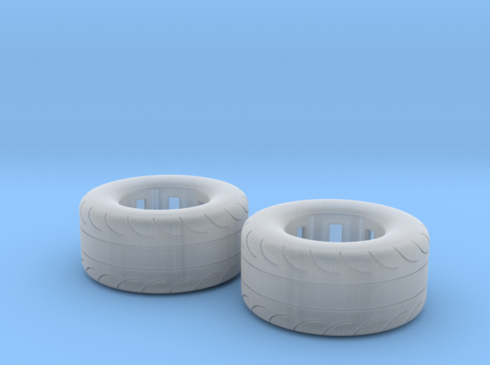 1/25 Scale Pair Of 325 50 15 MT Slicks 3d printed