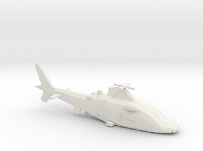 10mm (1/144) Agusta-Westland A109LUH 3d printed