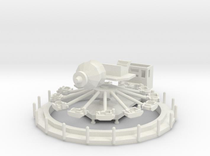 Babyflug - 1:120 - Version 1 (TT scale) 3d printed