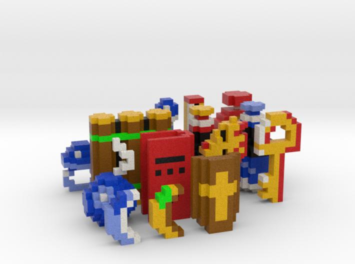 Legend of Zelda Items (Set 2) 3d printed