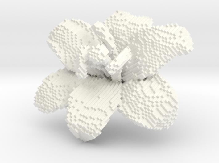 Lily Flower 1 Block - M 3d printed