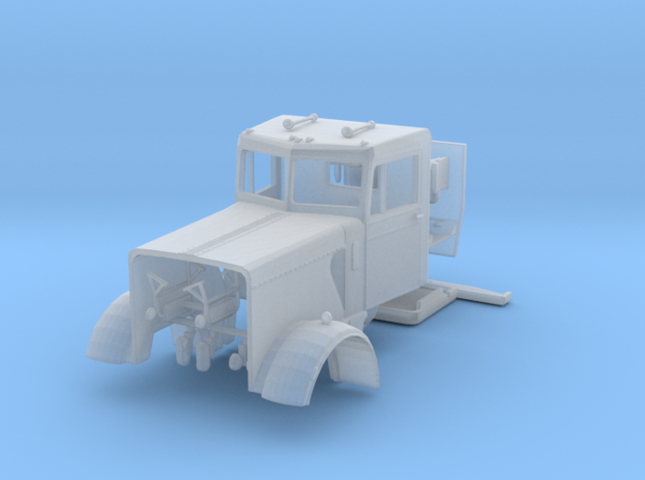 1/87th Peterbilt 359, 1960's Little Window 3d printed
