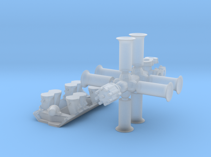 1/25 BBC Hilborn Injection System 3d printed