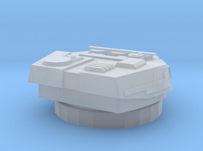 Devastator Turret (2cm) 3d printed