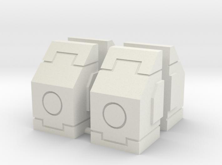 SciFi Milestones or Pillars 3d printed