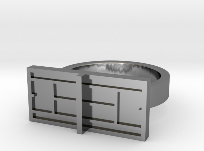 New Tennis Ring (Promotional Sale!) 3d printed
