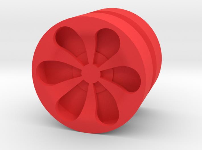 TEARDROP_1814CS - LEGO-compatible Custom Rims 3d printed