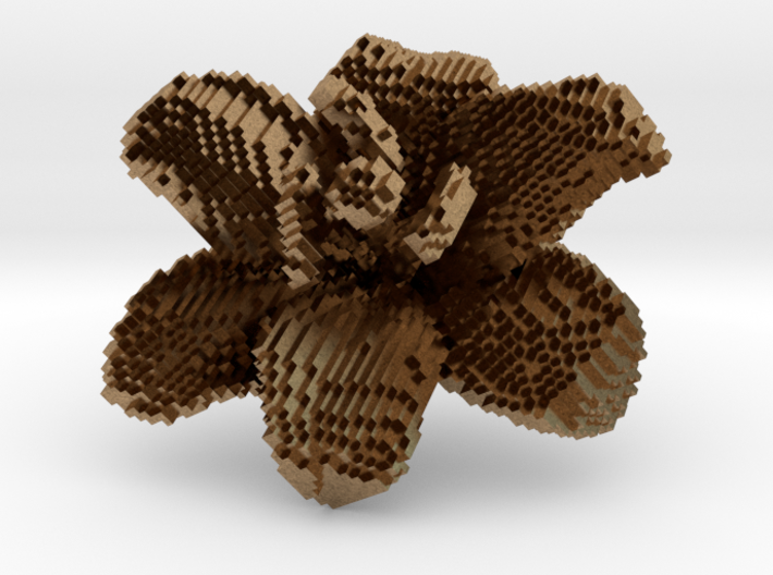 Lily Flower 1 Block - S1 3d printed