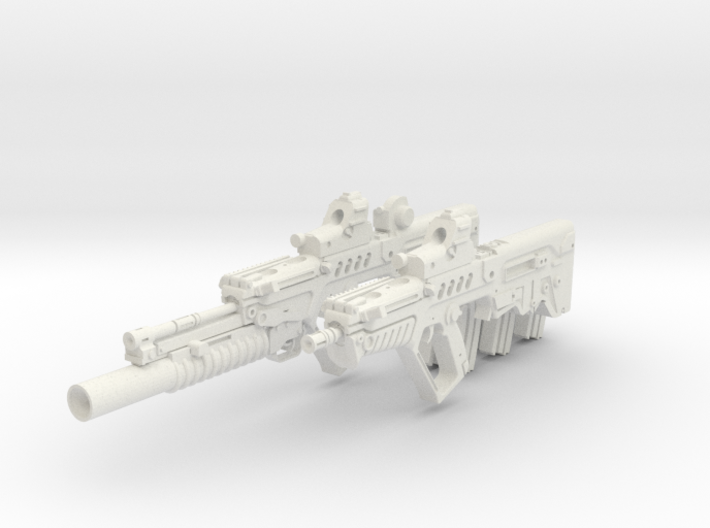 1-6 Tar21Tavor SET 3d printed