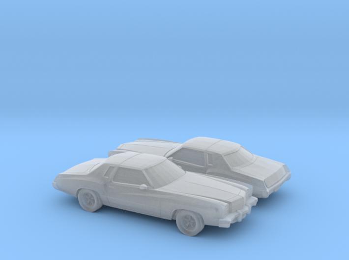 1/160 2X 1976-77 Chevrolet Monte Carlo 3d printed