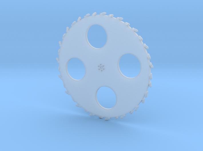 14 Ft Saw Wheel 3d printed