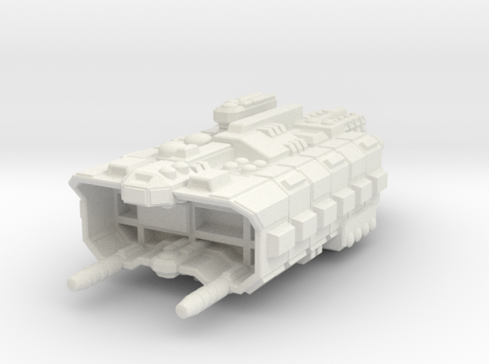 Factory Ship 3d printed