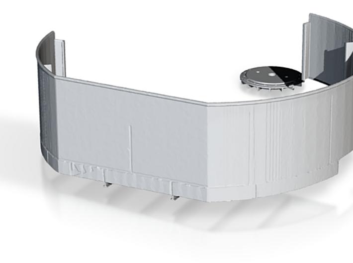 Corrected Heerman Starboard Tub 3d printed