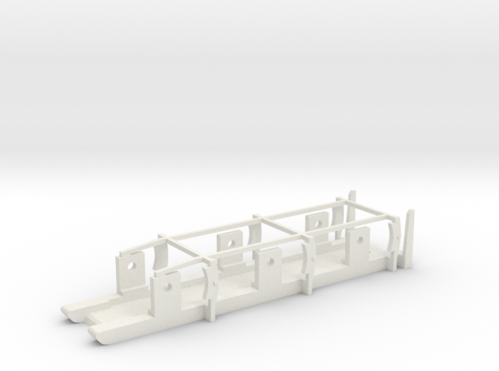 FR / Cambrian Tender - P4 Chassis 3d printed
