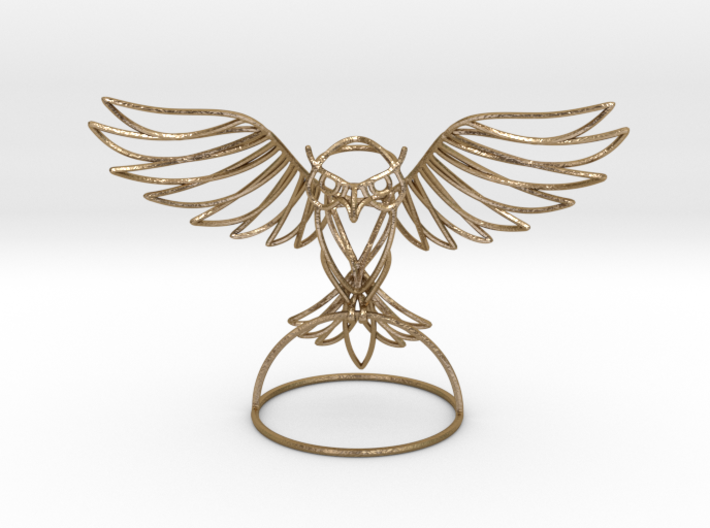 WireFrame Owl 3d printed