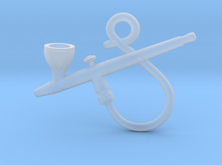 Airbrush Pendant 3d printed