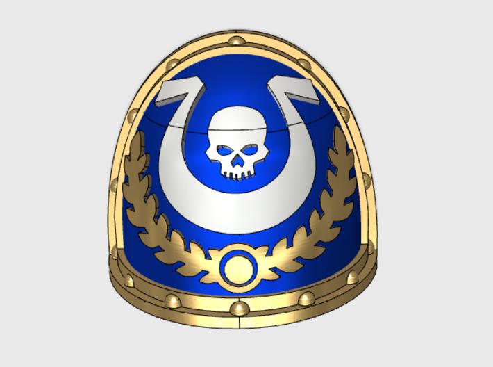 Ultra Legion Elite - Gen2:Crusader Shoulder x10 3d printed