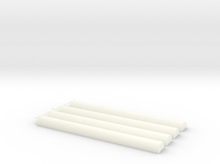 Senet Game Casting Sticks Only 3d printed