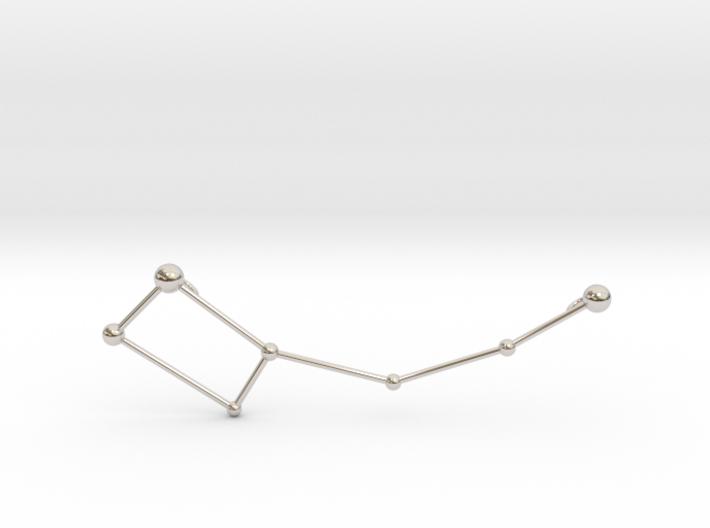 Ursa Minor Necklace 3d printed