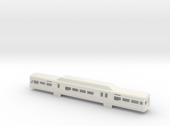 SilverLiner V NScale Car Shell 3d printed
