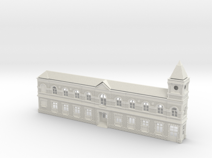 Wilmington Station3d5roof Slate Union 3d printed