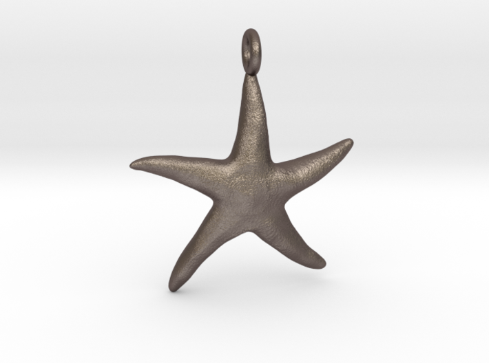 Star Fish With Ring 3d printed