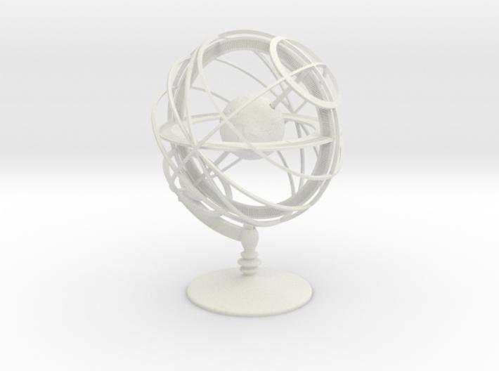 Armillary Sphere 3d printed