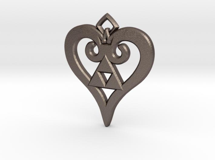 Kingdom Triforce 3d printed