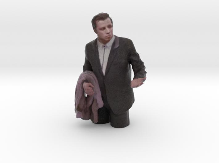 Confused Travolta 7cm 3d printed