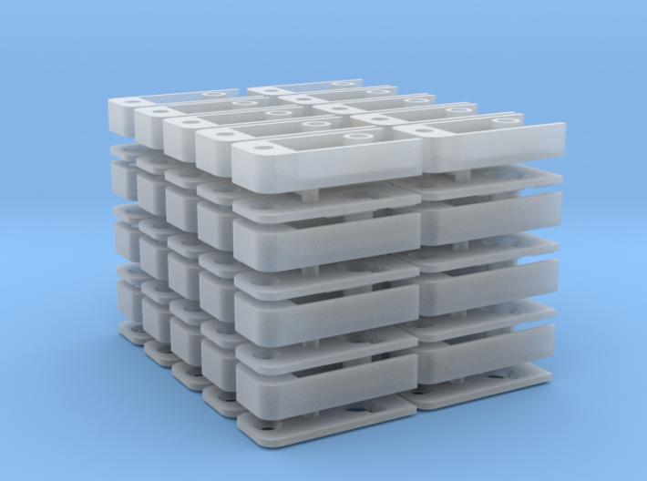 Medium Draft Coupler Box (N -1:160) 40X 3d printed