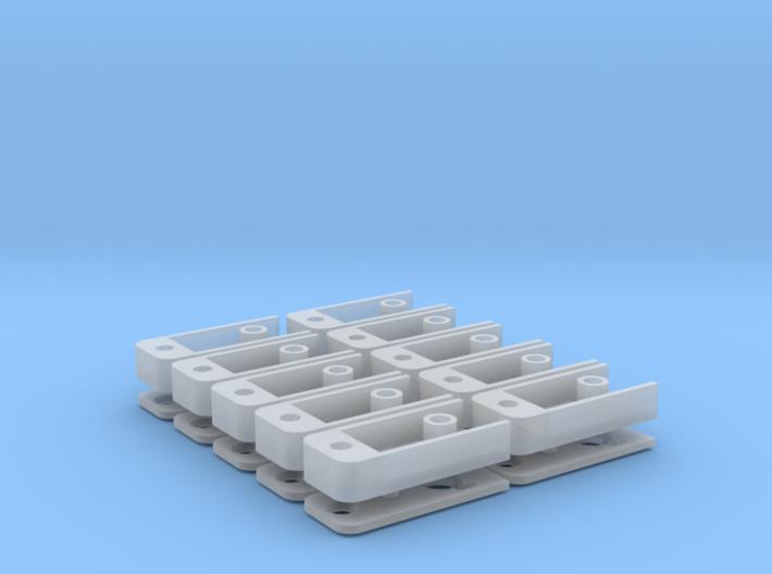 Medium Draft Coupler Box (N -1:160) 10X 3d printed