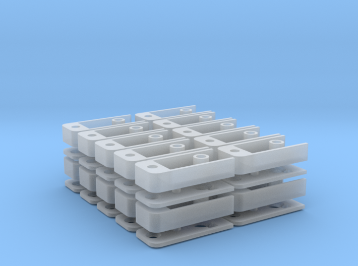 Medium Draft Coupler Box (N -1:160) 20X 3d printed