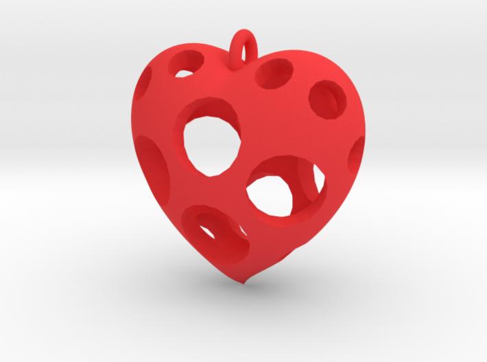 Heart Pendant #3 3d printed