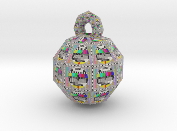 Philips PM5544 television pattern ball 1 47mm 3d printed