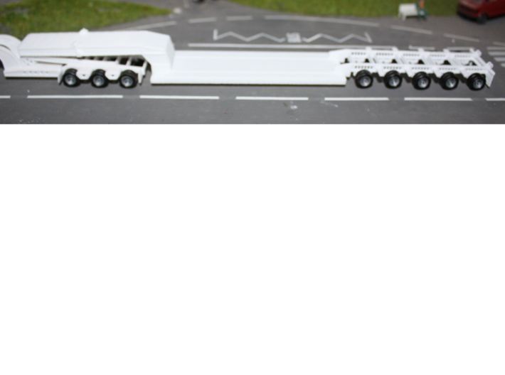 000140 Low loader for 3 axle dooly HO 1:87 without 3d printed