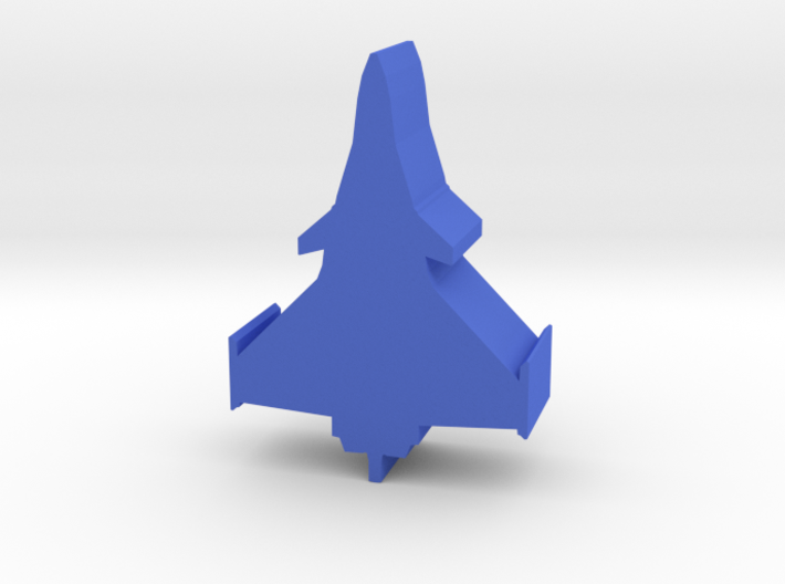 Game Piece, Blue Force Rafale Fighter 3d printed