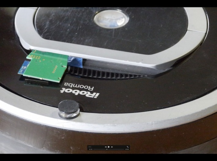 Thinking Cleaner 700, iRobot Roomba 7xx DIY cover 3d printed insert it in your Roomba 7xx or 8xx