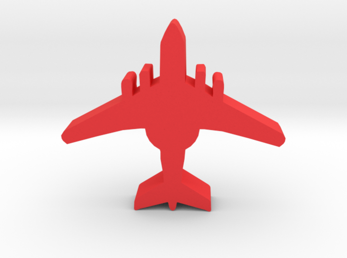 Game Piece, Red Force AWACS 3d printed