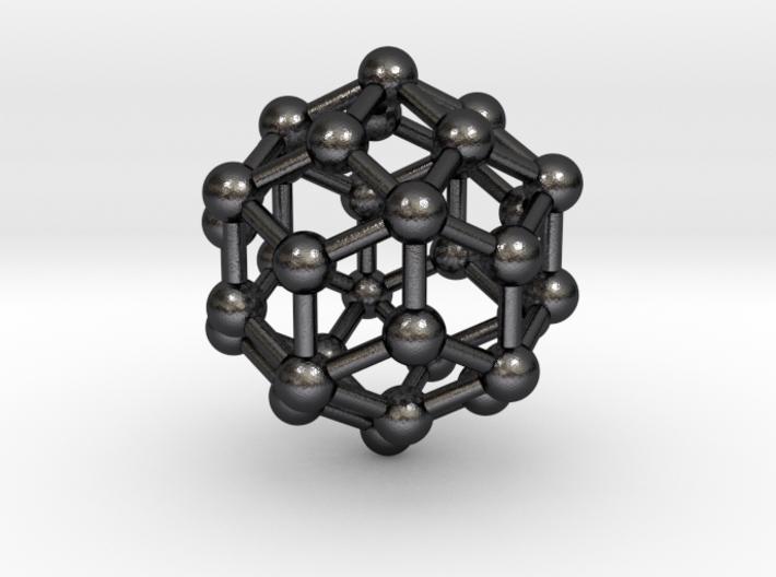 0305 Rhombic Triacontahedron V&E (a=1cm) #003 3d printed