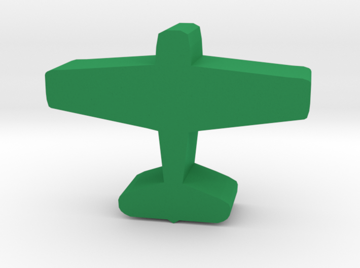Game Piece, WW2 Hellcat Fighter 3d printed