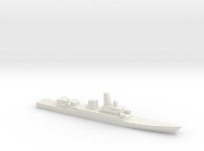 Haijing/CCG-31240 Patrol Ship w/ Barrels, 1/3000 3d printed