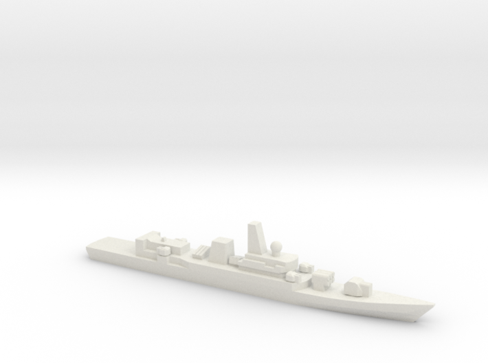 PLA[N] Type 053H2G Frigate w/ Barrels, 1/3000 3d printed