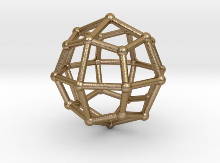 0314 Deltoidal Icositetrahedron V&E (a=1cm) #002 3d printed