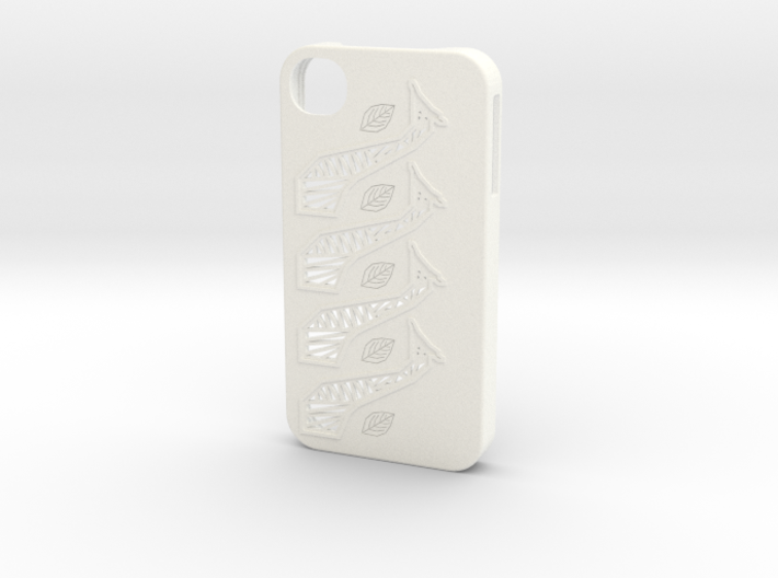 Giraffe iPhone 4/4S Case 3d printed